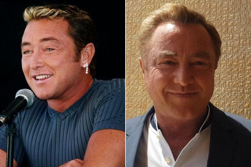 Michael Flatley 1999-ben és 2020-ban.