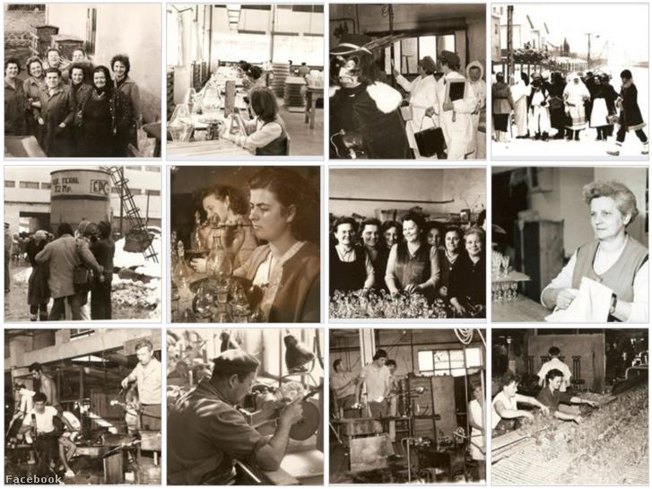 A PKM Facebook-csoport oldalán rengeteg archív fotót lehet találni a parádsasvári üveggyár múltjából