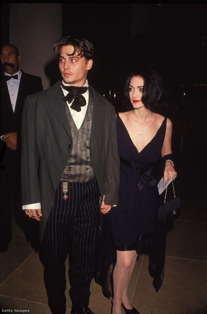 Ez egy 1990-es kép a párról, akik 1993-ig maradtak együtt