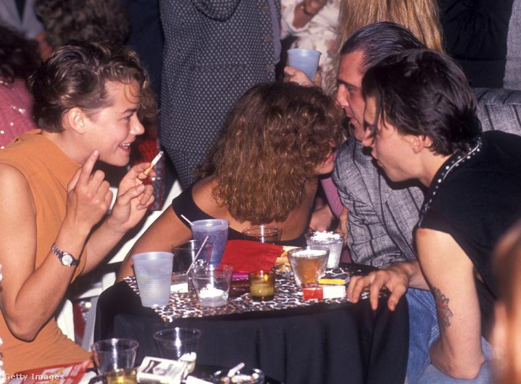 Az előző kép Johnny Depp első esküvőjén készült