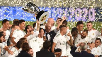 Története 34. spanyol bajnoki címét szerezte meg a Real Madrid