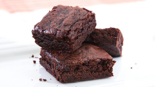 A brownie mentesen, háromszor