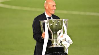 Zidane-nal eddig 19 meccsenként nyer kupát a Real Madrid