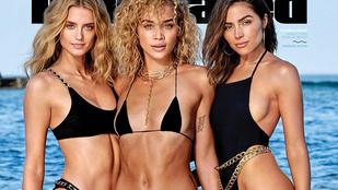 Ez a három, külön-külön is jó nő került idén a Sports Illustrated fürdőruhás címlapjára