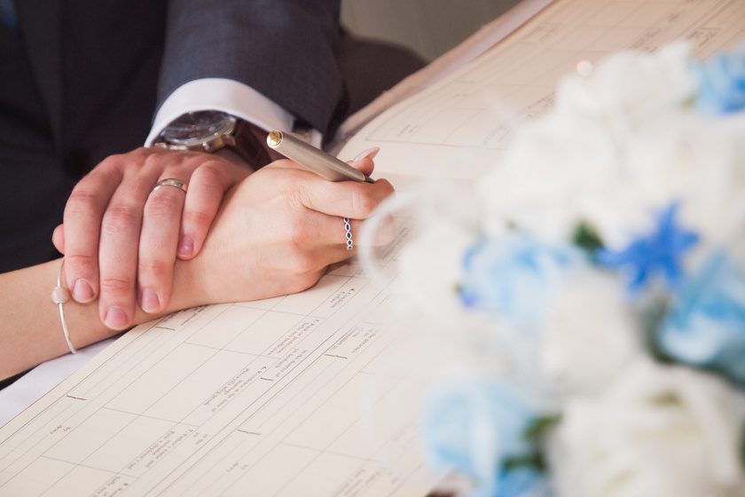 házasság papir
