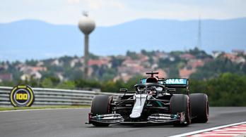 Éledezik a Ferrari, de a Mercedes tarolt a Magyar GP első edzésén