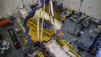 Ismét csúszik a 2700 milliárdos űrteleszkóp fellövése