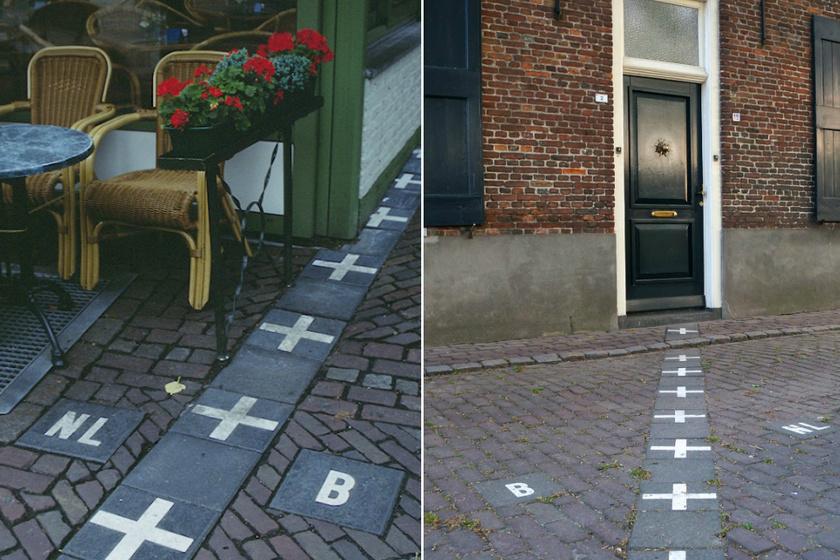 Baarle városa különleges.