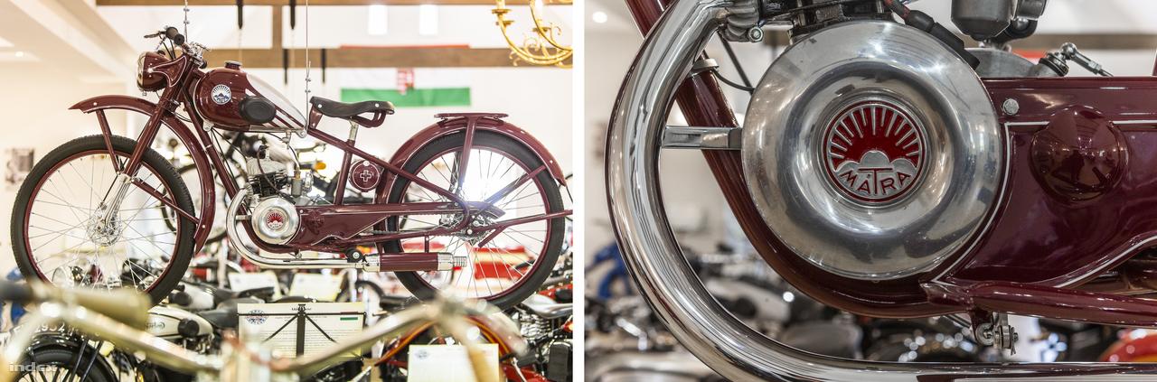 Mátra 100. Az 1939-ben gyártott motor a II. világháború előtti korszak kiemelkedő és sikeres hazai konstrukciója volt, Urbach László motorkerékpár-kereskedő és -versenyző tervezte. 1944-ig több ezer épült belőle, a háború vége után 1946-ban indult újra a gyártása. Aztán 1950-ben jött az államosítás, ez pedig a márka végét jelentette.