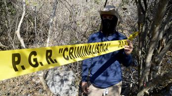 Újabb tömegsírt találtak Mexikóban