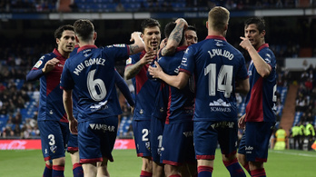 Története során másodszor jutott fel az első osztályba a spanyol Huesca