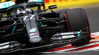 A Mercedes uralja a mezőnyt, Racing Point-meglepetés jöhet a Hungaroringen