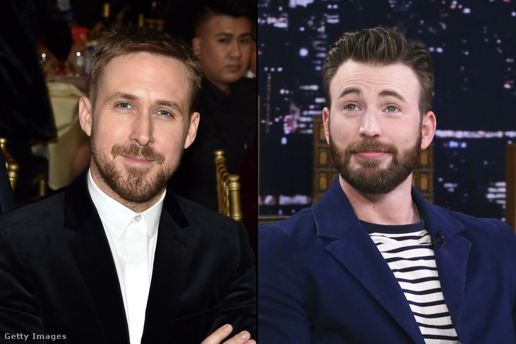 Ryan Gosling és Chris Evans a The Gray Man főszereplői