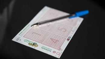 Valaki 1,7 milliárdot nyert az ötös lottón