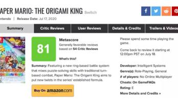 Nem lehet többé a megjelenés napján értékelni egy játékot a Metacriticen