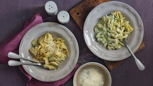 Ezt készítsd el cukkinivel: zöldséges tésztasaláta tonhallal