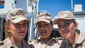 Megalakult az első női naszádlegénység az orosz haditengerészetnél