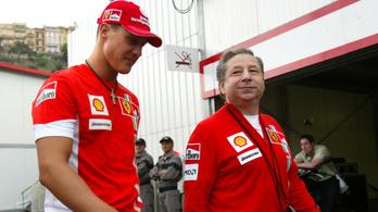 Jean Todt reméli, Schumacher egyszer még a nyilvánosság elé állhat