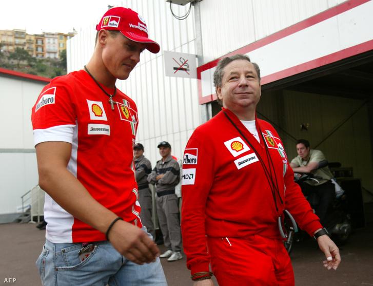 Michael Schumacher és Jean Todt 2007-ben