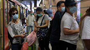 A járvány kitörése óta nem volt ennyi új fertőzött Hongkongban