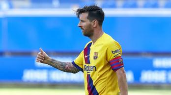Megdöntötte a Barcelona-legenda rekordját, Messié a legtöbb gólpassz