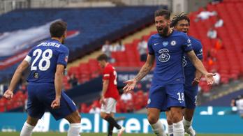 Két ajándékgóllal jutott be az FA-kupa döntőjébe a Chelsea
