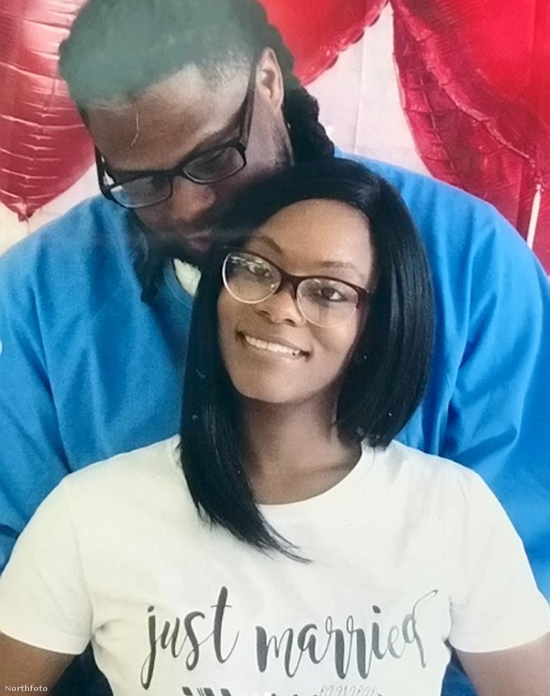 A menyasszony egy ilyen friss házasoknak való pólót is csináltatott magának a börtönesküvő megünnepléséhez.