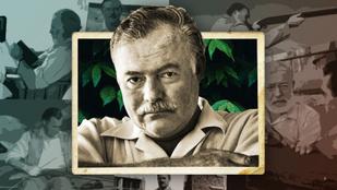 """""""Ha az életről akarsz írni, ahhoz előbb meg kell élni"""" – Képeken Ernest Hemingway élete"""