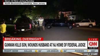 Lelőtték egy amerikai bírónő fiát, a férjét megsebesítették New Jersey-i otthonukban