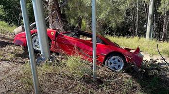 Eladása előtt egy nappal törtek össze egy Ferrari F40-et
