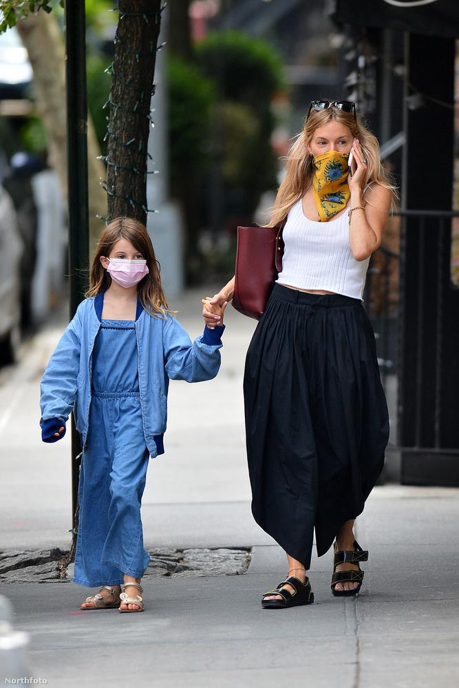 Akárcsak Sienna Miller és nyolcéves kislánya, Marlowe