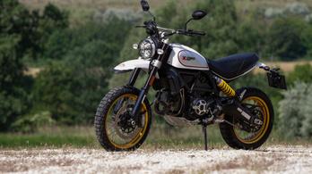 Teszt: Ducati Scrambler Desert Sled - 2019.