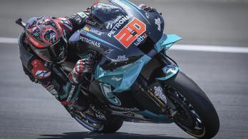 Bekövetkezett, amitől a Honda rettegett: Márquez összecsukta magát