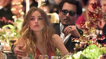 Amber Heard Johnny Deppről: Néha attól féltem, meg fog ölni