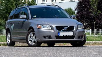 Használtteszt: Volvo V50 1.6 D – 2008.