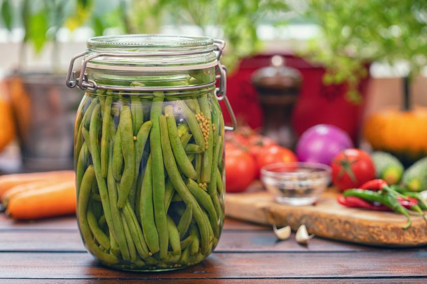 Egyszerű ecetes, fűszeres zöldbab: így tedd el üvegben, hogy sokáig elálljon