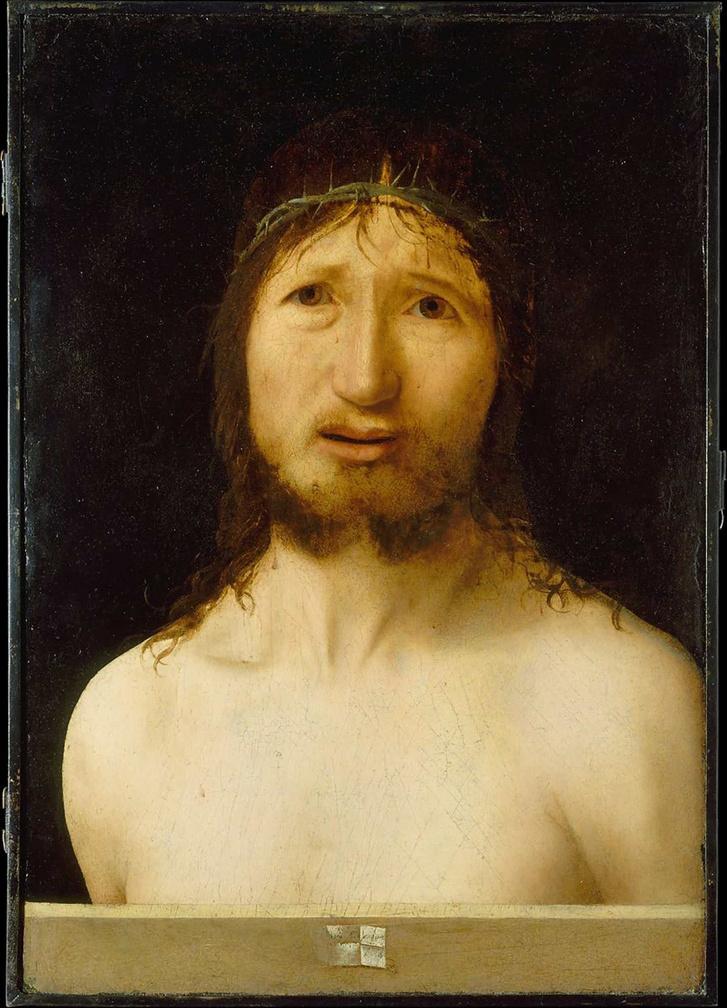 Ecce Homo, 1470, Antonello da Messina.
