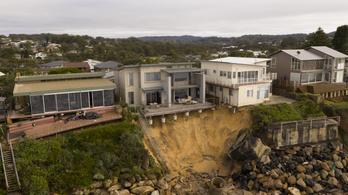 Több millió dolláros luxusapartmanokat dönthet romba az erózió Ausztrália partjainál