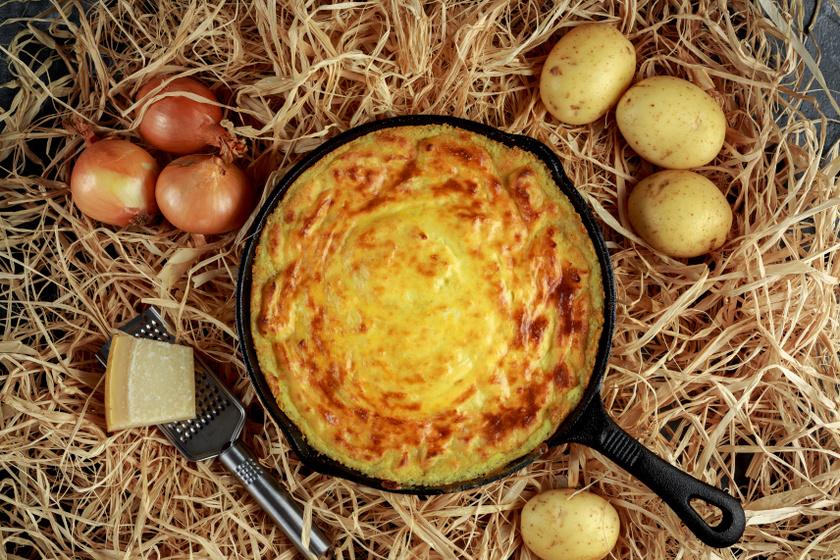 krumplis pite recept