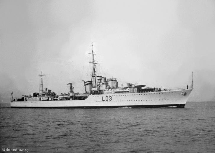 HMS Cossak