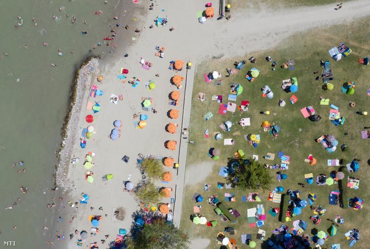Strand Balatonlellén