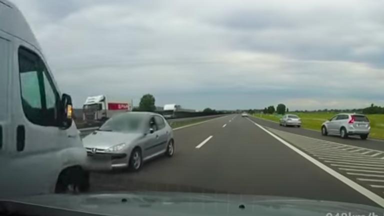 A forgalommal szemben hajtott fel az M4-esre egy idős sofőr