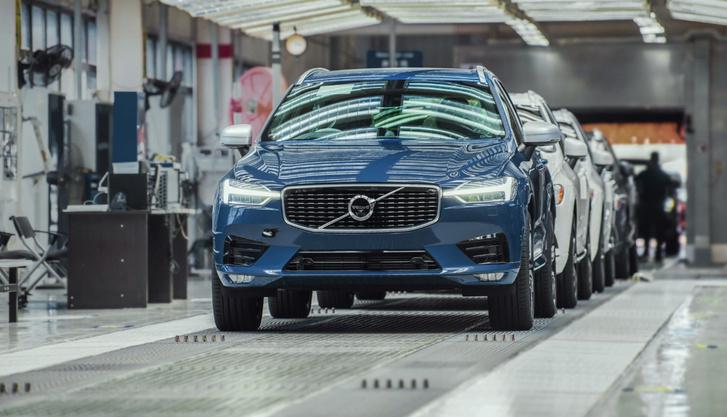 269026 Volvo Cars Chengdu car plant