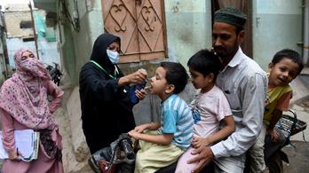 Újraindítják a gyermekbénulás-oltásokat, mert járvány fenyeget