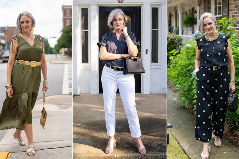 A blogger megmutatja, hogy lehet valaki 50 felett is igazán nőies - Nyári öltözködéséből van mit tanulni