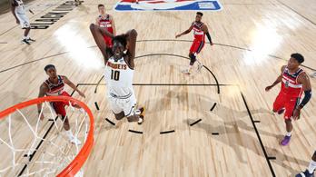 Brutális játékkal kezdte az NBA-újraindítást, azonnal elvitték doppingtesztre