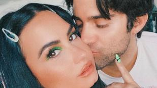 Demi Lovatót öt hónap randizás után eljegyezte barátja