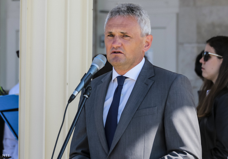 Balassa Balázs 2019. április 20-án.