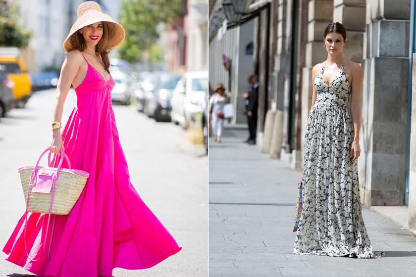 A nyár kedvenc ruhája nőies, és magasabbnak láttat: divatos maxiruhák körképe