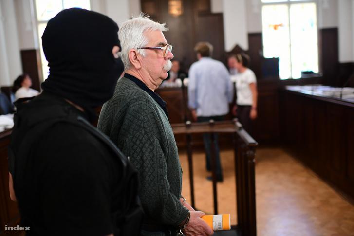 Győrkös István egy korábbi tárgyaláson